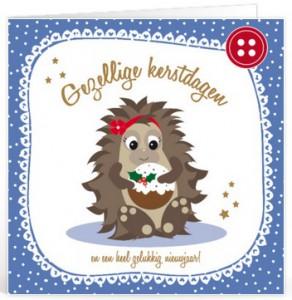 Kerstkaart tekst voor op een kaartje