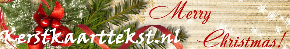 Kerstkaarttekst.nl