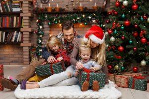 Kerst met het gezin